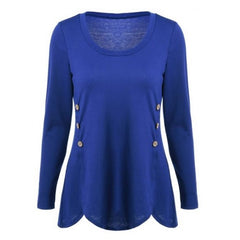 Button Blouse $20.17 - God Degree Clothing And Accessories - GD's