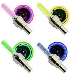 Flashing LED Wheel Light Valve Caps $7.11 - God Degree Clothing And Accessories - GD's