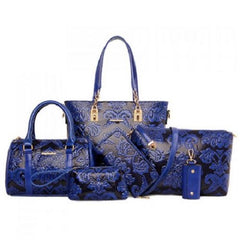 Elegant Embossing and Metallic Design Shoulder Bags  $49.01 - God Degree Clothing And Accessories - GD's