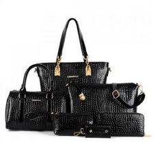 Stylish Crocodile Shoulder Bags $49.01 - God Degree Clothing And Accessories - GD's