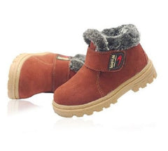 Child's Fashion Winter Warm Fluff Antislip Snow Boots