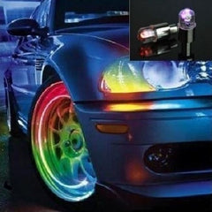 Neon LED Wheel Lights Valve Caps $7.11 - God Degree Clothing And Accessories - GD's