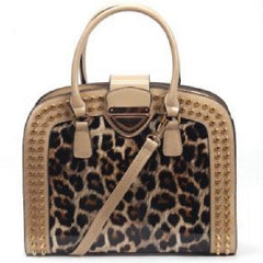 Leopard Print Patent Leather Shoulder Tote Handbags $48.01 - God Degree Clothing And Accessories™® - GD's™®