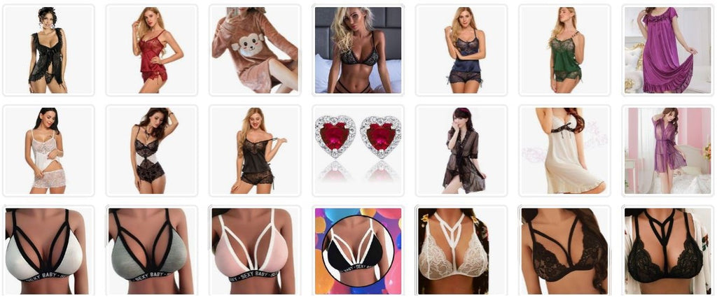 Lingerie Bras Panties Robes  - Kwikibuy Amazon Global