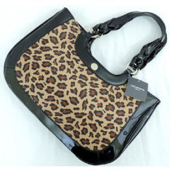 Leopard Print Satin Handbag $42.01 - God Degree Clothing And Accessories™® - GD's™®