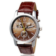 Luxury Crocodile Leather Band Wrist Watch $20.17 - God Degree Clothing And Accessories™® - GD's™®