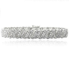 1.00 CTTW Diamond Bracelet $254.01 - God Degree Clothing And Accessories™® - GD's™®