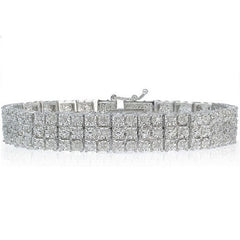 1.00 CTTW Miracle-Set Diamond Bracelet $274.01 - God Degree Clothing And Accessories™® - GD's™®