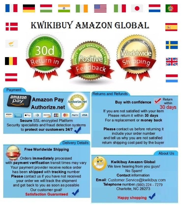 Order Policy Summary  - Use Amazon Pay 🌎 How do I open an Amazon Pay account? If you already have an account with Amazon, you only have to accept our Customer Agreement when making a purchase. Participating countries: United States - Canada - Germany - Netherlands - United Kingdom - Austria - India - Italy - Spain - Ireland - Denmark - Hungary - Belgium - Japan - Cyprus - France - Luxembourg - Portugal - Sweden