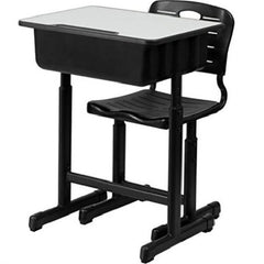 Student Adjustable Desk and Chair Set - Kwikibuy Amazon Global UPS Estimated Delivery: 5 - 7 days Table Material: Density Board and Plastic Ergonomic Structure