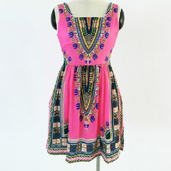Vintage Dashiki Dress 29.01 - God Degree Clothing And Accessories™® - GD's™®