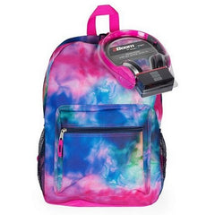 Watercolor Backpack & Headphones Set $34.99 - Kwikibuy.com™®