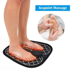 Wireless Foot Massager - Kwikibuy Amazon Global Function: Blood circulation and feet relaxer Color: Black Mat: Soft and comfortable yoga material