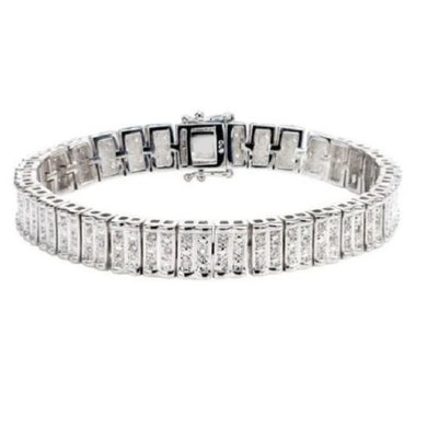 1.00 CTTW Genuine White Diamond Bracelet SOLD OUT!  - Kwikibuy Amazon Global  SOLD OUT! 102 Genuine White Diamonds (Less than one dollar per Genuine