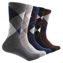 Load image into Gallery viewer, 10-Pair-Argyle-Socks-Blue  - Kwikibuy Amazon Global