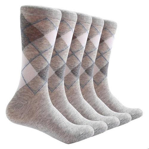 10 Pair Argyle Socks (Beige) | Kwikibuy Amazon | United States