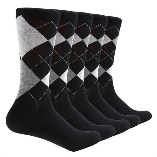 Shop-Now-10-Pair-Argyle-Socks-Black-Kwikibuy.com-All