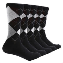 Load image into Gallery viewer, 10 Pair Argyle Socks (Size 5/11  - 5 Colors)  - Kwikibuy Amazon Global