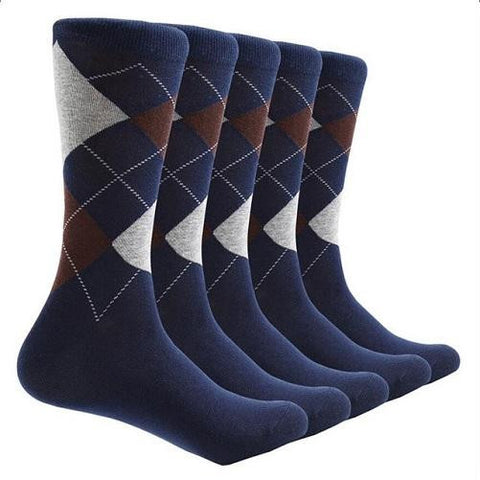10 Pair Argyle Socks (Blue) | Kwikibuy Amazon | United States