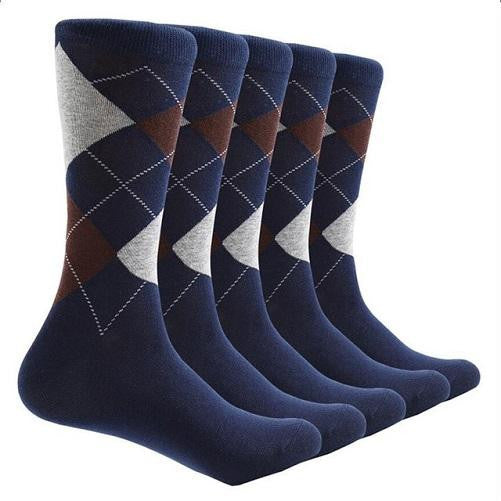 Shop-Now-10-Pair-Argyle-Socks-Blue-Kwikibuy.com-All