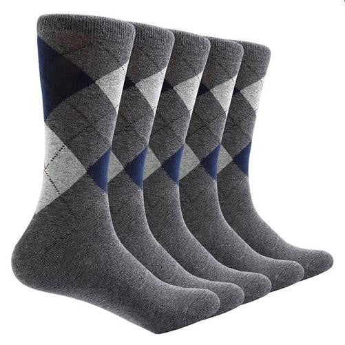 Shop-Now-10-Pair-Argyle-Socks-Grey-Kwikibuy.com-All
