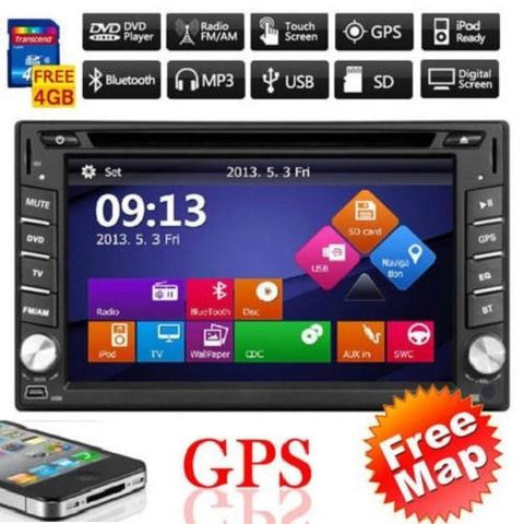 Auto Stereo HD GPS Bluetooth $169.01 - God Degree Clothing And Accessories™® - GD's™®