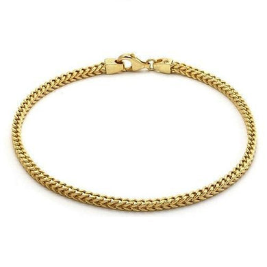 🍀 14K Solid Yellow Gold Bracelet (Free Gift Pouch)  - Kwikibuy Amazon Global