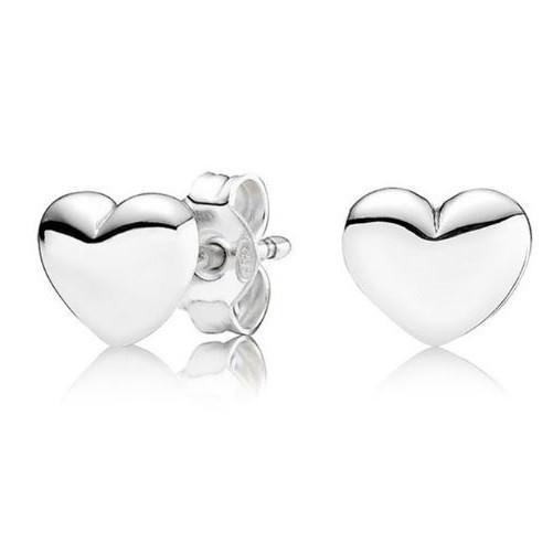 Shop-Now-14K-Solid-White-Gold-Heart-Stud-Earrings-Kwikibuy.com