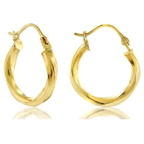 Shop-Now-14K-Yellow-Gold-16-mm-Twisted-Hoop-Earrings-Kwikibuy.com-fine-jewelry