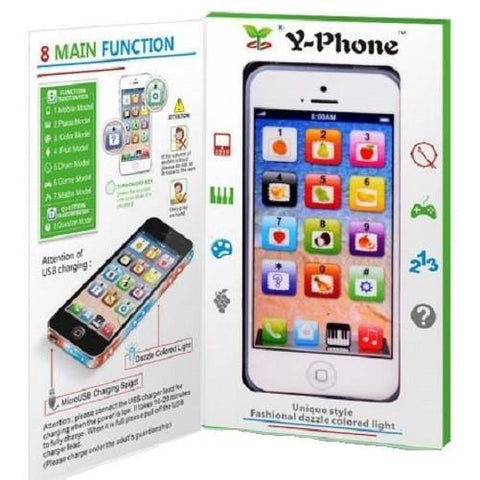 Child's YPhone Dazzling Super Light Mobile Phone $20.17 - God Degree Clothing And Accessories™® - GD's™®