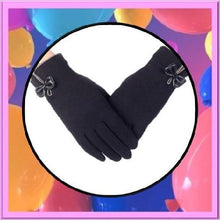 Load image into Gallery viewer, High-Quality-Ladies-Bow-Gloves-Black  - Kwikibuy Amazon Global
