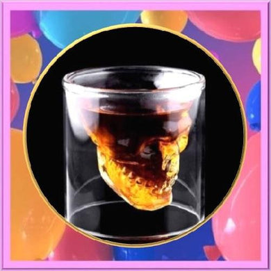 Skull-Shot-Glass-4-Sizes  - Kwikibuy Amazon Global