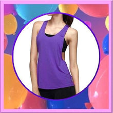 Load image into Gallery viewer, Quick-Dry-Loose-Fitness-Tank-Tops-Purple-Buy-One-Get-Two  - Kwikibuy Amazon Global