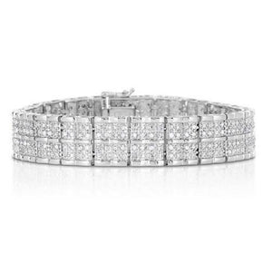 🍀 2.00 CTTW Diamond Bracelets  - Kwikibuy Amazon Global