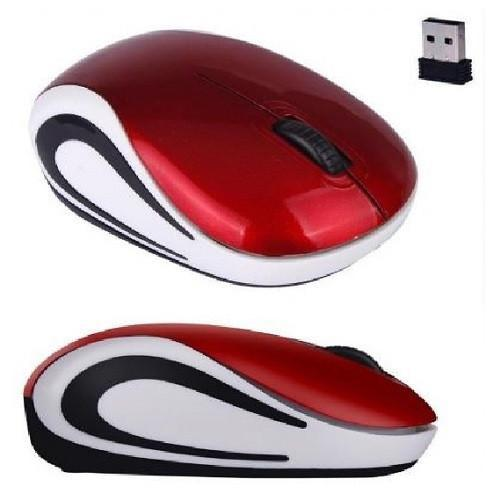 Mini 2.4 GHz Wireless Optical Mouse (Red) - Kwikibuy.com Official Site©