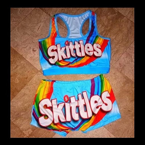 2 Piece Candy (6 Flavors - 5 Sizes) - Kwikibuy Amazon Global Material: Spandex Polyester 5 Sizes: Small to 2X-Large (See size chart) 6 Flavors