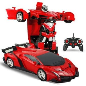 2-In-1-Radio-Control-Transformation-Sports-Car-Robot-With-Remote-Control-Police-Blue  - Kwikibuy Amazon Global