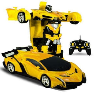 🍀 Transformation Sports Car Robot W/Radio Control (5 Colors)  - Kwikibuy Amazon Global