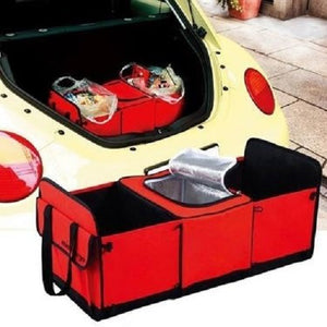 Trunk Collapsible Storage Basket Organizer With Insulated Cooler (5 Colors)  - Kwikibuy Amazon Global This storage basket is features 3 spacious interior
