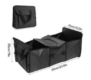 Trunk-Collapsible-Storage-Basket-Organizer-With-Insulated-Cooler-Black  - Kwikibuy Amazon Global