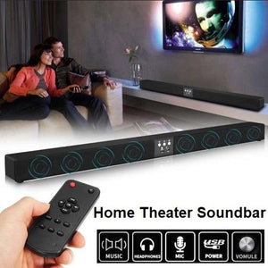 50 Watt Home Theater Super Bass Surround Sound Bar Speakers  - Kwikibuy Amazon Global