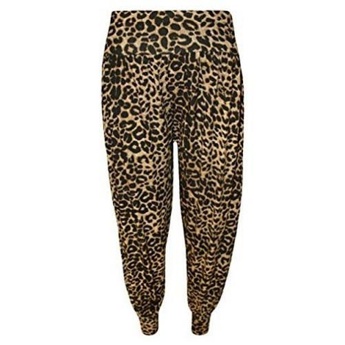 Plus Size Leopard Print Harem Pants (Available Plus Sizes) $20.17 - God Degree Clothing And Accessories™® - GD's™®