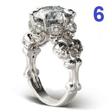 Load image into Gallery viewer, 925 Sterling Silver Skull Ring  - Kwikibuy Amazon Global