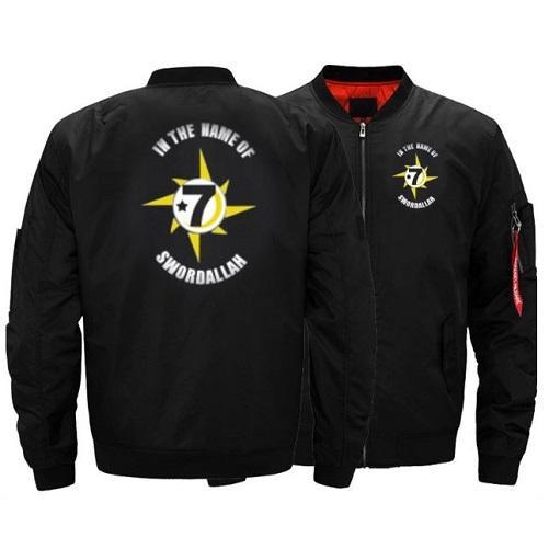 *7) GodBody Flight Jacket (Personalized Black) | Kwikibuy Amazon | United States