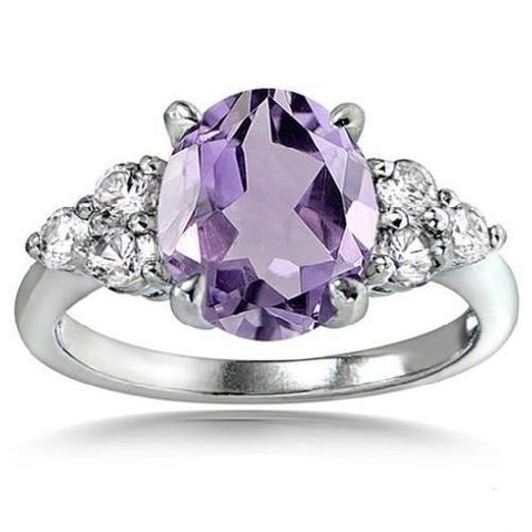 Buy-Now-Amethyst-White-Topaz-Oval-Ring-Kwikibuy.com™®