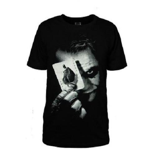 Batman the Dark Knight Joker Logo Short Cotton T-Shirts  - Kwikibuy Amazon Global