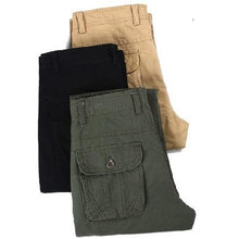 Load image into Gallery viewer, Big-Pockets-Cargo-Pants-Black  - Kwikibuy Amazon Global