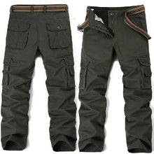 Load image into Gallery viewer, Big Pockets Army Green Cargo Pants (3 Colors - 9 Sizes)  - Kwikibuy Amazon Global