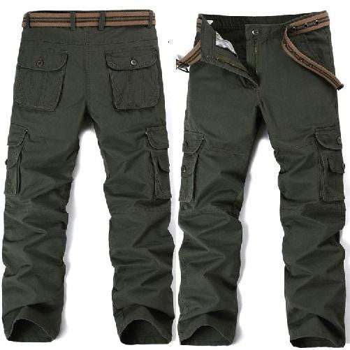 Big Pockets Army Green Cargo Pants (3 Colors - 9 Sizes)  - Kwikibuy Amazon Global