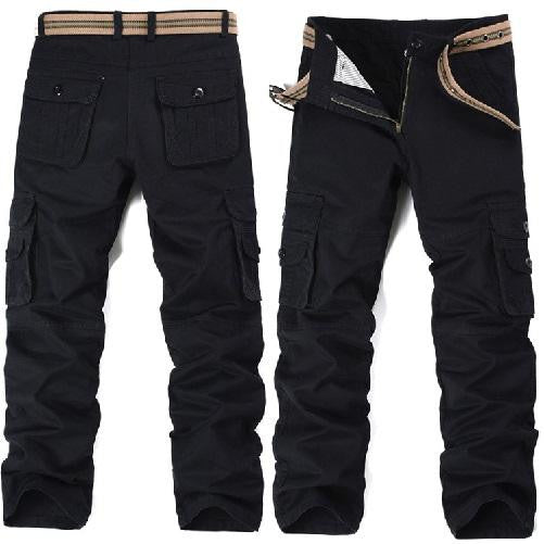 Big Pockets Black Cargo Pants (3 Colors - 9 Sizes)  - Kwikibuy Amazon Global